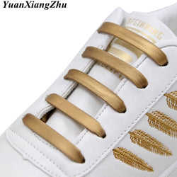 12pcs/16pcs Elastic Silicone Shoelace Practical Fashionable Men Women