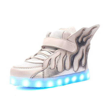 Children's Sneakers Luminous Shoes Led Sneakers for Boys&Girls