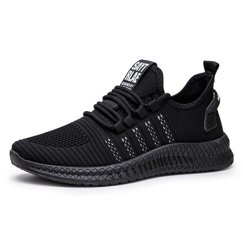Fashion Sneakers Breathable Male Footwear Lace Up Walking Shoe
