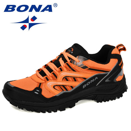 BONA 2020 New Designers Popular Men Sneakers Hiking Shoes