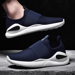 Men Sport Running Shoes Slip On Walking Jogging Sneakers