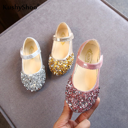 KushyShoo 2020 Spring New Children Shoes Girls Princess Shoes