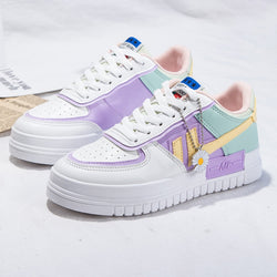 2020 Summer Women Sneakers White Tennis Women Shoes Canvas Slip Vulcanize Shoes