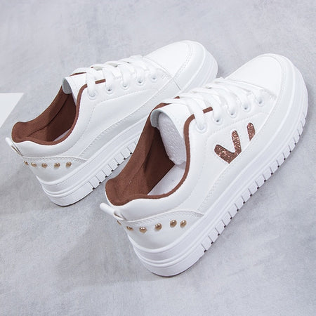 Women Platform Shoes Fashion Sneakers Height Increasing