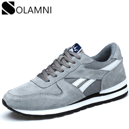 Genuine Leather Sneakers Mens Casual Shoes