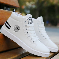 Casual Sneakers High Top Shoes Men White Sport Shoes 2020
