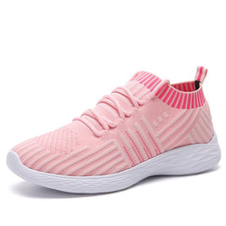 Light Breathable Mesh Cloth Spring Autumn Shoes Woman Sneaker
