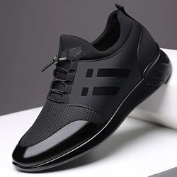 RayZing 2020 Men's Fashion Sneakers Man Casual Shoes Breathable Men Genuine Leather Shoes Big size