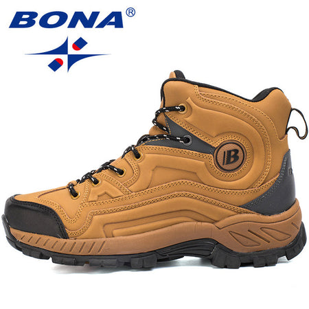 BONA New Men Hiking Sneakers Outdoor Jogging Athletic Shoes
