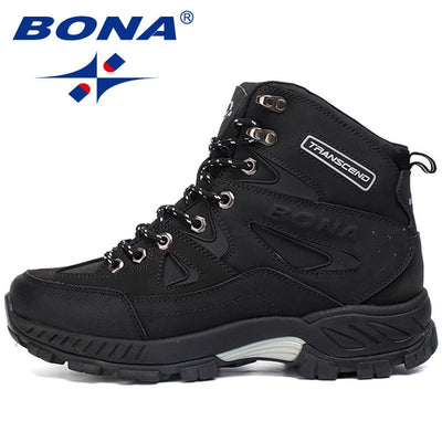 BONA New Arrival Men Hiking Shoes