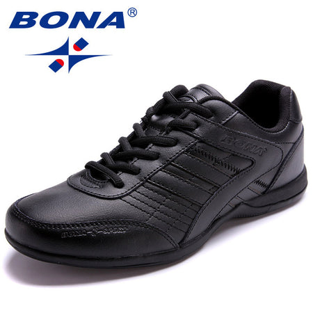 BONA New Popular Men Running Shoes Outdoor Walking Jogging Sneakers