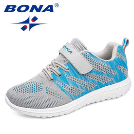BONA New Arrival Popular Style Children Casual Shoes Mesh Sneakers Boys & Girls