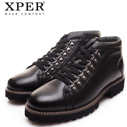 XPER Brand New Genuine Leather Men Boots