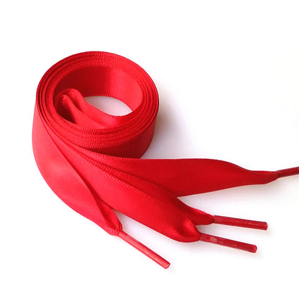 Pair of 0.7M Silk Ribbon Shoelaces