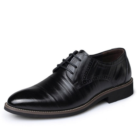 2019 New High Quality Genuine Leather Dress Shoes