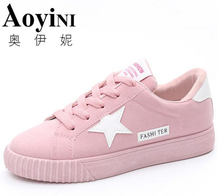 Fashion Women Pink Sneakers Women