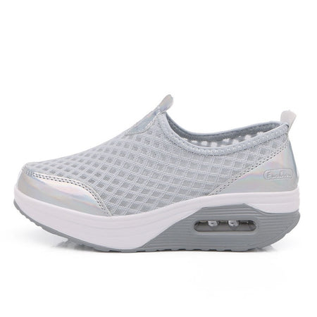 Fashion Mesh Weaving Breathable Fitness Lady Shoes 2019