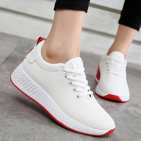 Comfortable women sneakers air mesh spring/autumn shoes