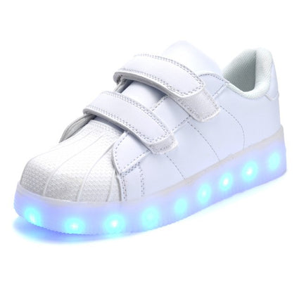 Glowing LED Kids Sneakers with light Luminous Colorful LED
