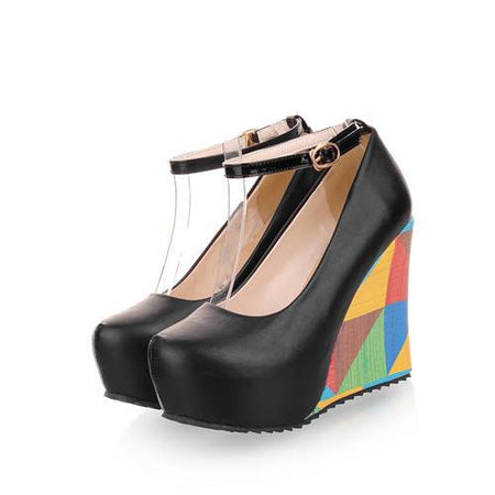ASUMER 2020 New Arrive Fashion Sexy Wedges High Heels