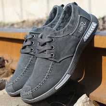 2019 New Denim Lace-up Canvas Shoes