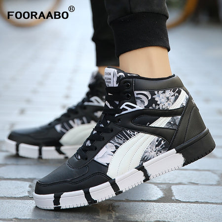 Fooraabo 2019 New Printing Casual Shoes
