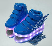 USB Charging Boy Fashion Shoes