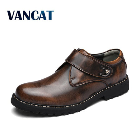 VANCAT Brand Handmade Breathable Men's Shoes