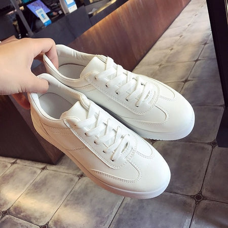 Height Increasing Ladies Round Toe Female Shoes