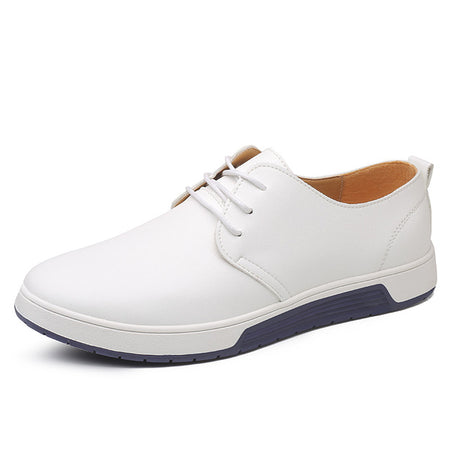 Merkmak Brand Summer Men Leather Casual Shoes