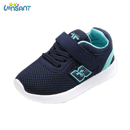 LONSANT New 2019 Children Newborn Kids Sneakers
