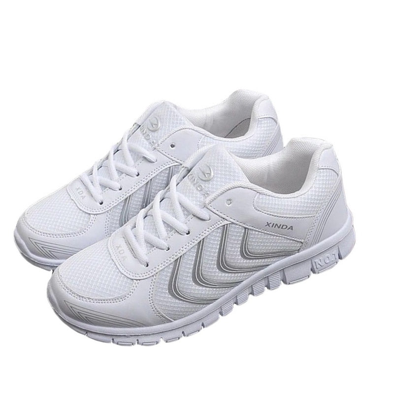 5fe72fb7c3b Laamei Women Shoes 2019 New Arrivals Fashion Tenis Feminino Light  Breathable Mesh Shoes Woman Casual Shoes Female Sneakers mujer