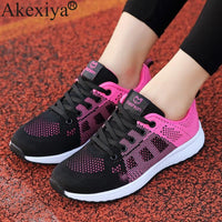 Akexiya Summer Running For Women Sneakers Lightweight Shoe
