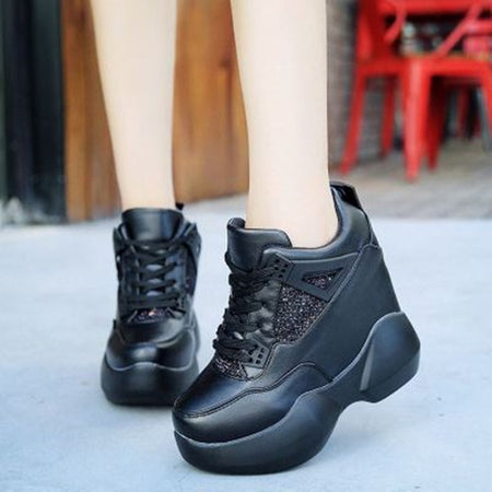 Sneakers Women Thick Sole Breathable Shoes 2019