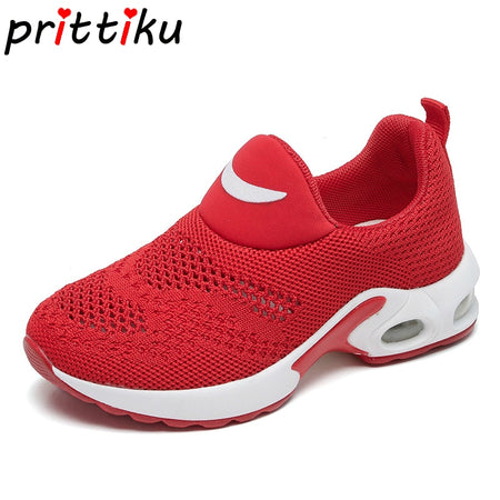 Summer 2019 Toddler Boy Girl Knitted Air Cushion Shoes