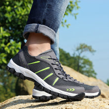 Summer Mens Breathable Lace Up Trainers Shoes