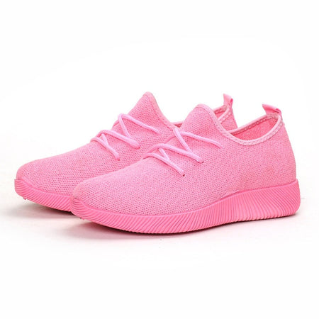 New Comfortable Candy Color Breathable Net Shoe