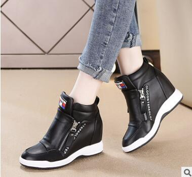 SWYIVY Winter 2019  High Top Female Casual Shoes