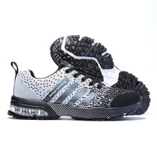 2019 New Breathable Women Blue Sneakers Unisex Outdoor Sports Running Shoes Gym Hard-Wearing Basket Femme Plus Size 11 12