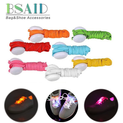 BSAID 1 pc LED Luminous Shoelaces