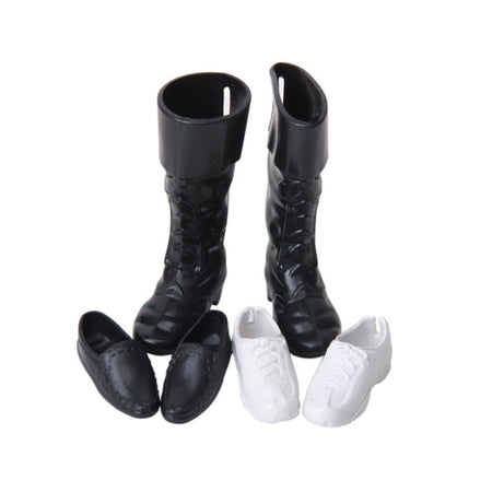 3pcs Prince Doll Shoes Sneakers Cup Shoes Boots