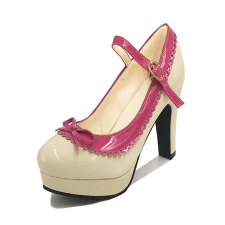 TAOFFEN Women High Heel Shoes