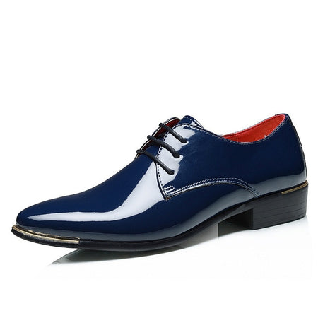 Men's Glossy Dress Shoes