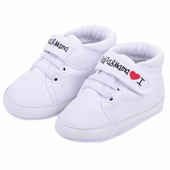 Newborn Baby Shoes Unisex First Walkers 0-18M Toddler Newborn Shoes Baby Infant Kids
