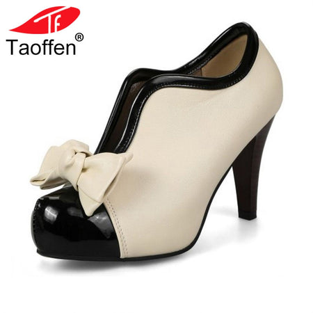 TAOFFEN Women Party Wedding Shoes