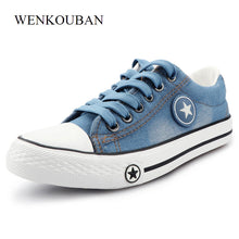 Sky Blue Cartoon Trainers Shoes For Women