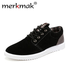 Merkmak Men British Style Flats Shoes