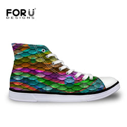 FORUDESIGNS Brand Women Shoes High Top Women Sneakers
