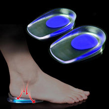 1 Pair Women Men Silicon Gel Heel Pad Adult Insoles Soles Foot Protectors Support Shoe Pad High Heel Pad