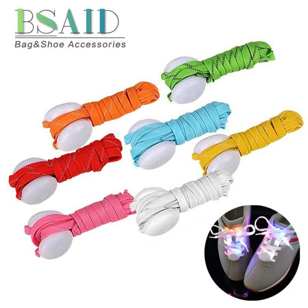 BSAID 1 pc LED Luminous Shoelaces For Boys